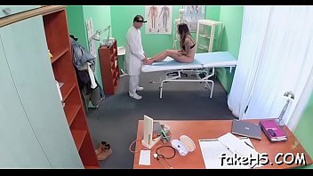 anal gets exam doctor Shemale meets female 3