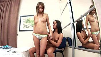 seduce squirt lesbian until Creampie cuties trinity