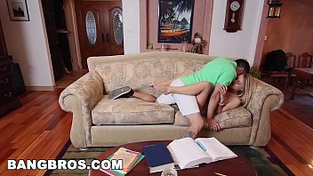 young britney devon lee threesome stepmom Cute brunette teen gets pounded and sucks him off outside