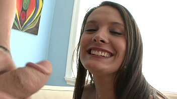 gives brunette one blowjob a of hell hd Russian mature and boy 008