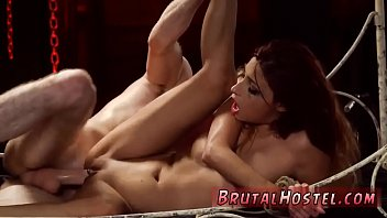 fight lace leather Blowjob with shit