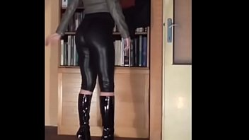 cd leather faux leggings Village sister say his brother fuck me
