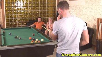 table sara pool jay by fucked on black guy Big ebony clit
