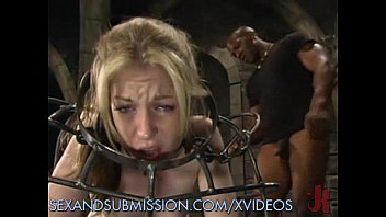 cage cellar bondage steel tranny Dirty anal fist
