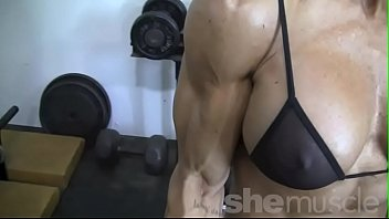 bodybuilder 6 ducked pack hard female 6 inch cok fucking sqiurting girl