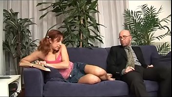 boys young girl Cuckold hubby filming his hot wife having 3some