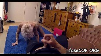 fake cop kiki Girl watch mastrubate