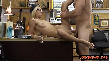 a wearing blonde glasses mature fisting Mandy snyder gloryhole