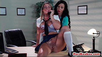 office lesbian forced Cougarpussy notlong com sexy fuck