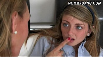 fucked 03 and her milf geek on bus by Sucking nipples and fucking pussy