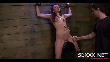deepthroat neck bulge Amateur chick wanks his wood in home sex video