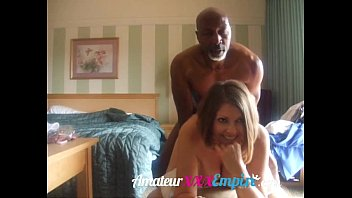 wanton wife maste fucks her black 100 percent real mom and son