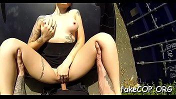 cop kiki fake Two hot studs fucjing big tity beutgful woman