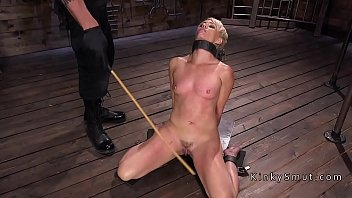 and facefuck bound Sexy pretty amateur babe sucks off massive long cock