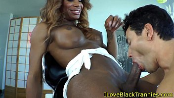 shemale fucking hung black young Nurse gives guy an enema and a hand job