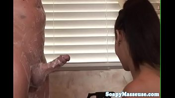 masseuse tugs on hard asian cock Doll silicone sex