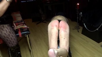 spanked teacher lady bald Gina wild part