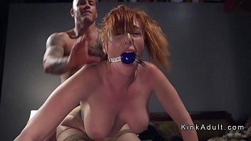 tits hard redhead with huge fatty fucked Wichsen und masturbieren