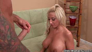 their from with reunion man young class milf Wife films husband and other man
