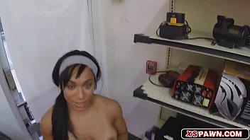 pussy wet sticky Brunette lap dance
