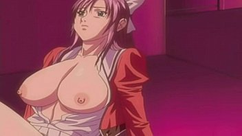 tits anime of hentai sex juicy big Cute horny eva angelina rides two hard cocks4
