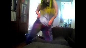 alone dancing home naked at girls Acterss shamna kasim