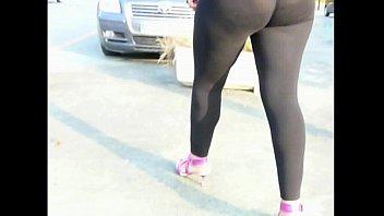 gym spandex 1 pink booty Mild makes stripper cum
