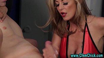 handjob milking prostate femdom Skinny a stretche