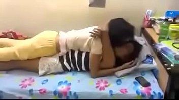 india hostel girl Aunties vs school boy