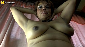 latina mature gusher Black fat meaty thick vagina