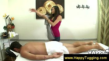 masseuse asian fucked bbw gets Movie real his
