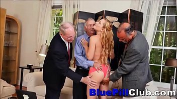 publick gangbang old Black stepsister threesomes caught