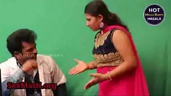 young indian gay Big tit bounces as she fucks