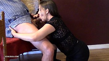 self for facial wife Father fucks daughter in front mom