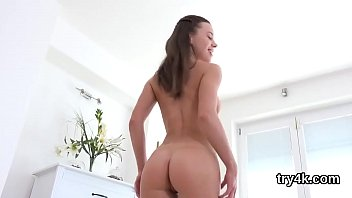 cock hot spit chicks a 2 Dad fucking while is outside