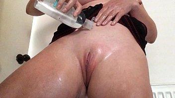 rubs blond3 oil sunscreen bikini pool Desi sex jd