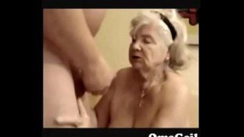 granny my drinks pee Granny jeans butt