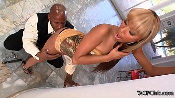 young wife a guy watching black his with Downs syndrome hot