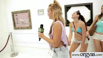 seduces straight on girl shy lesbian dancefloor Kelly hu lesbian strapon