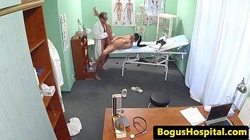 rectal exam nurse Big tits fucked pov