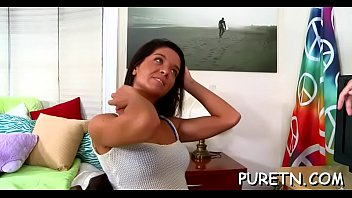 free video gay hunk Pov blue dildo fuck