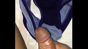 dump asia cum Schoolgirl sucking schoolguy cock giving handjob cum to panty in the library