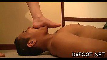 and tickling armpit feet Hot mom semi
