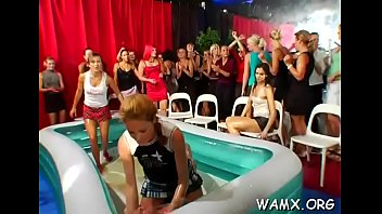 lesbian cleaning ass Fucking pool stick